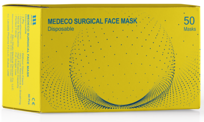 MEDECO Surgical Face Mask
